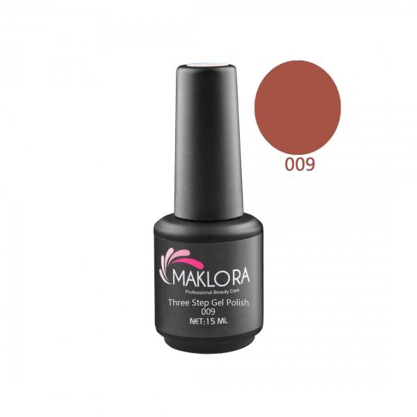 Maklora Three Step Gel Polish 009 15 Ml