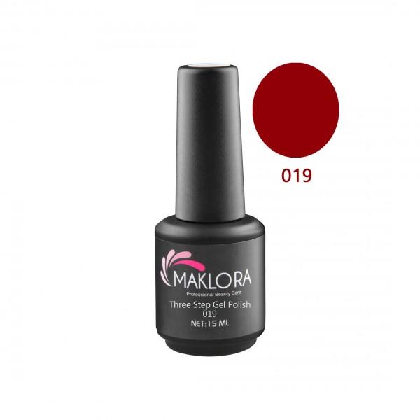 Maklora Three Step Gel Polish 019 15 Ml